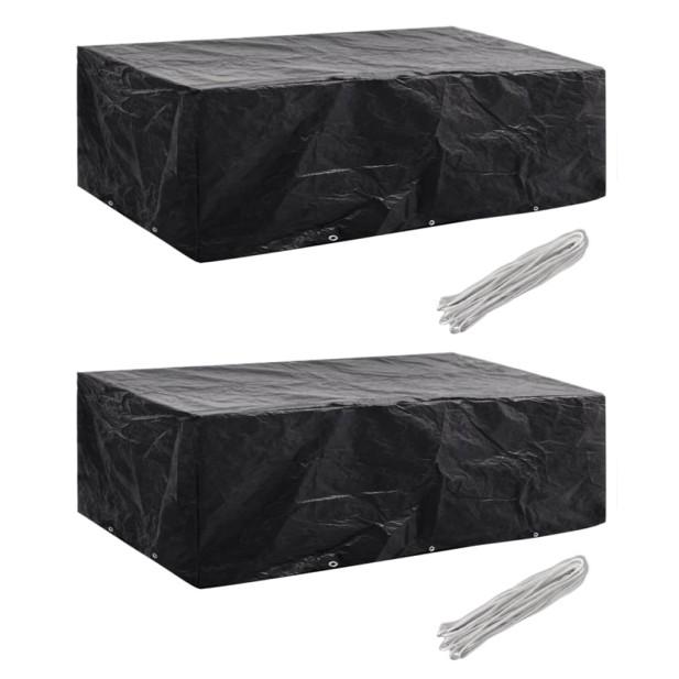 2 db védőhuzat 8 személyes polyrattan szetthez 300 x 140 cm - utánvéttel vagy ingyenes szállítással