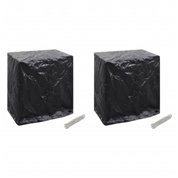 2 db takaróponyva pingpongasztalra 8 fűzőlyukkal 160x55x182 cm - utánvéttel vagy ingyenes szállítással