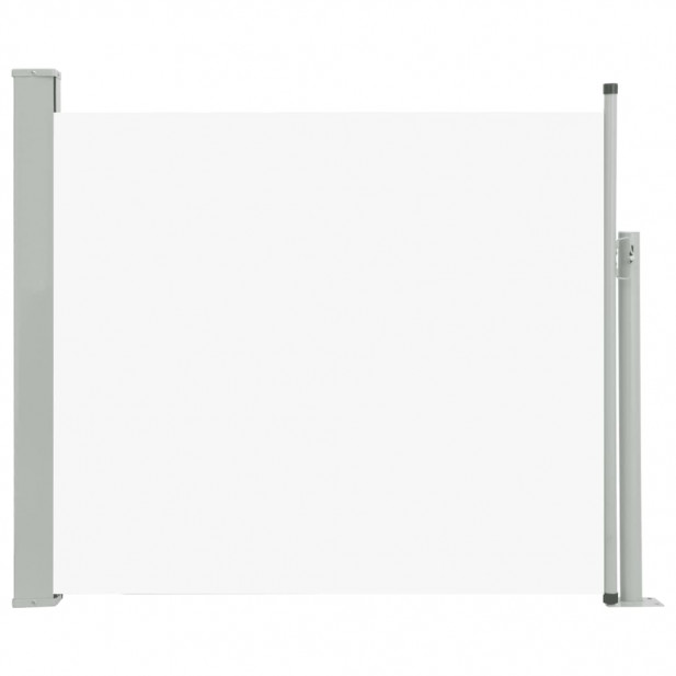 Krémszínű kihúzható oldalsó teraszi napellenző 100 x 300 cm - utánvéttel vagy ingyenes szállítással