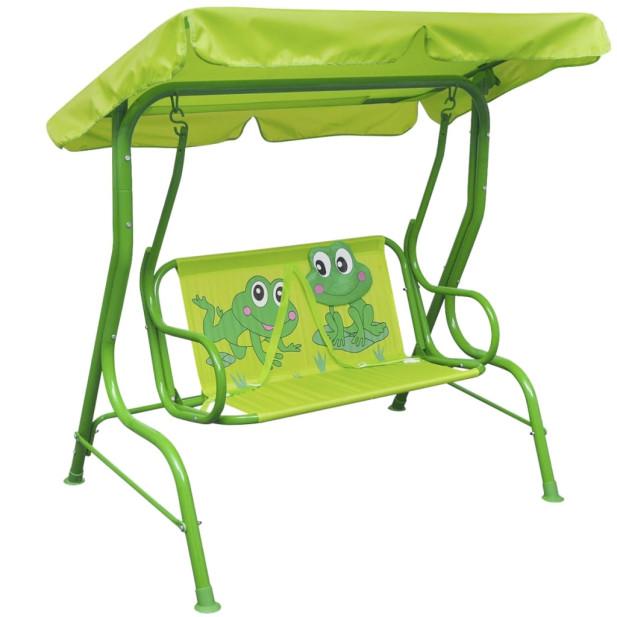 Gyerek hintaágy zöld - utánvéttel vagy ingyenes szállítással