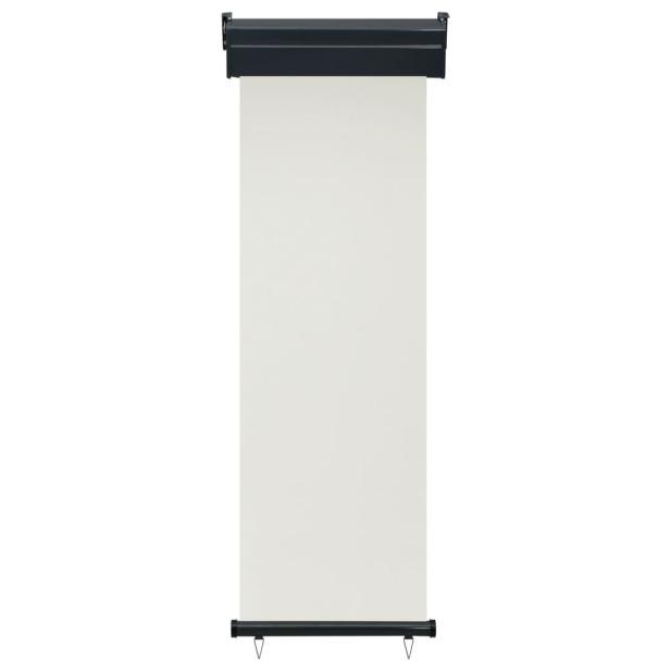 Krémszínű oldalsó terasznapellenző 60 x 250 cm - utánvéttel vagy ingyenes szállítással