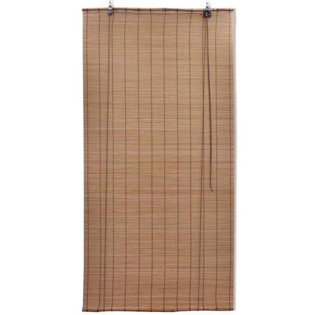 Barna bambuszroló 80 x 220 cm - utánvéttel vagy ingyenes szállítással
