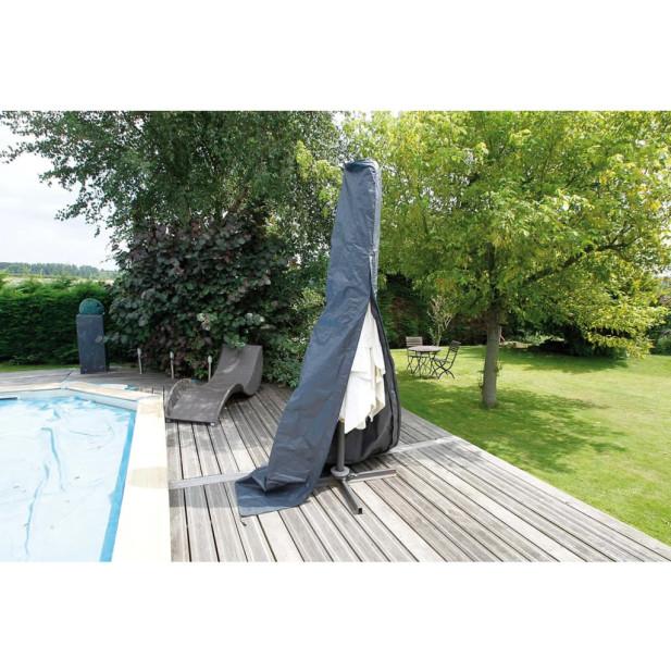 Nature 6030616 egyenes esernyő védőhuzat PE 202 x 27 x 42 cm sötétszürke - utánvéttel vagy ingyenes szállítással