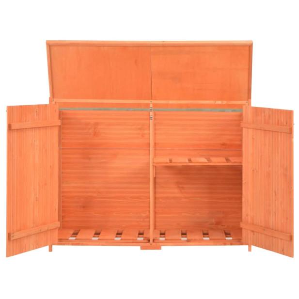 Fa kerti fészer 120 x 50 x 91 cm - utánvéttel vagy ingyenes szállítással